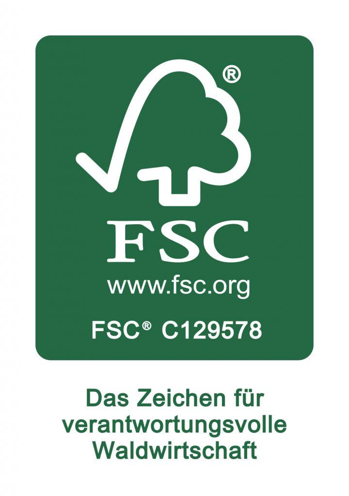 FSC-Logo - Das Zeichen für verantwortungsvolle Waldwirtschaft