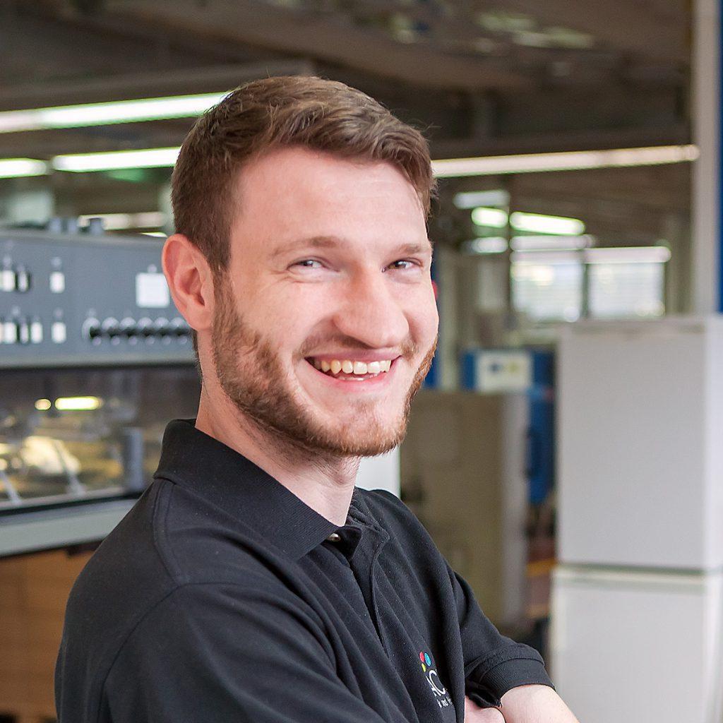 Sebastian Köhn, Technischer Leiter - Portrait