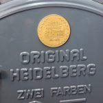 Mack - Geschichte - historische Maschine von Heidelberg