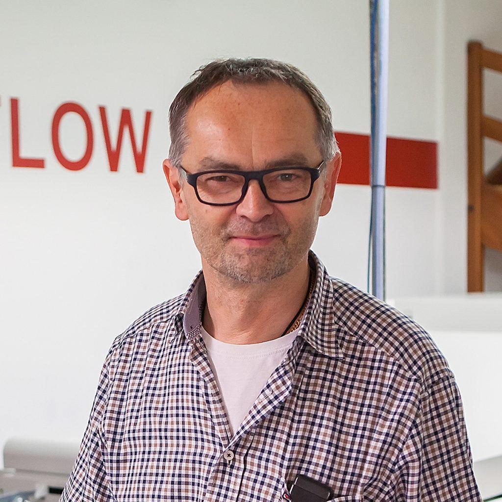Jürgen Mack, Geschäftsführer - Portrait