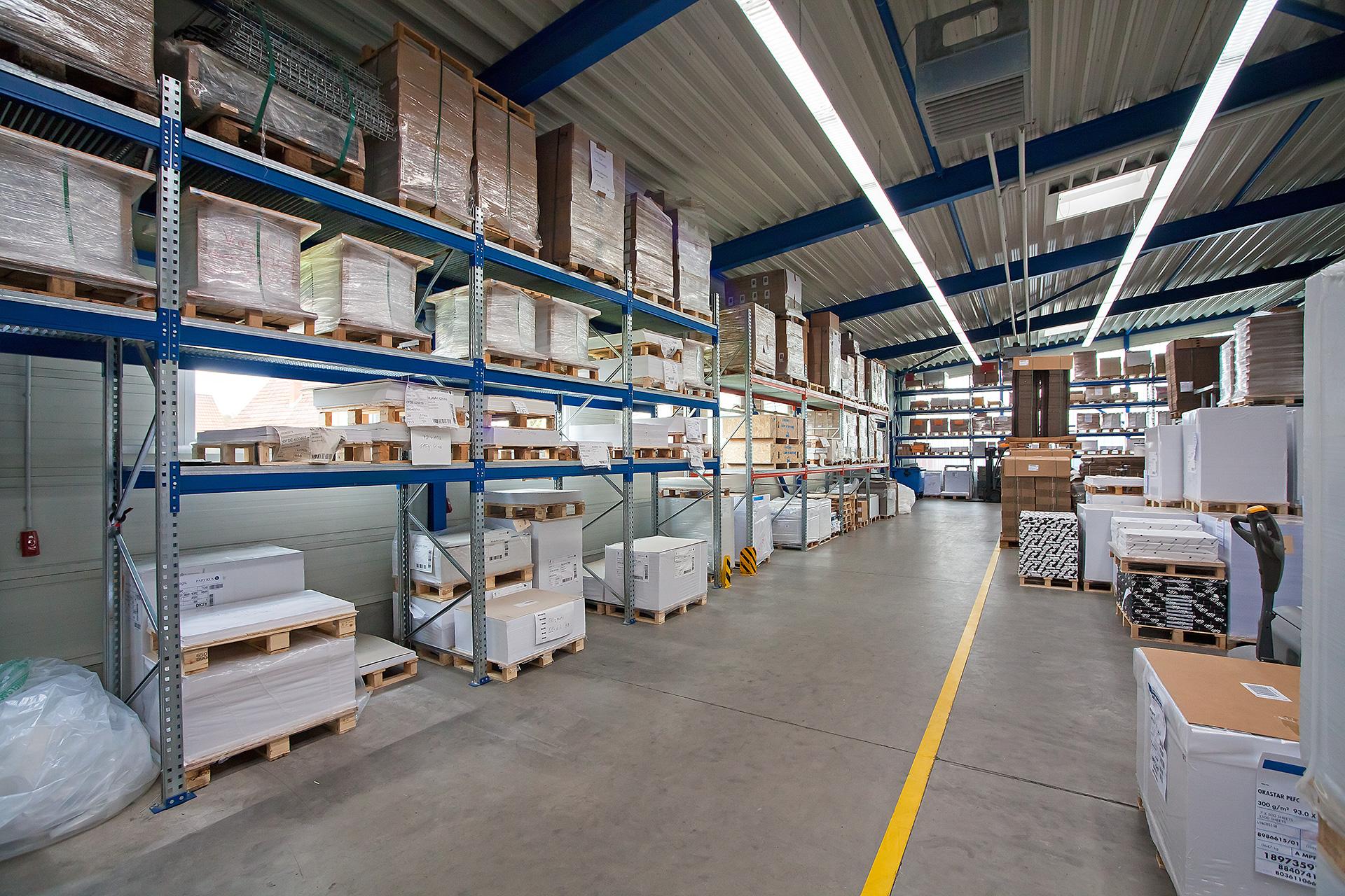 Logistik, Lager & Versand