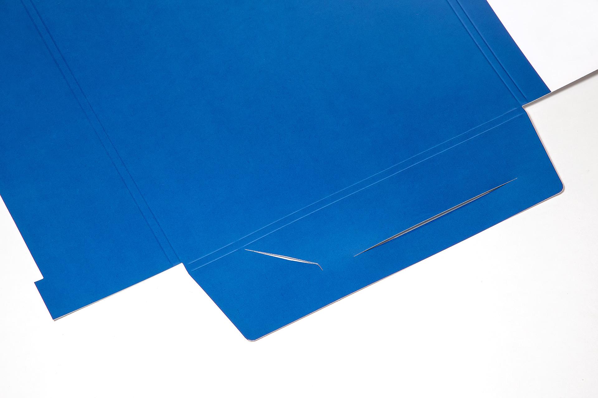 Stanzen - Formen und Schlitze - Druckweiterverarbeitung
