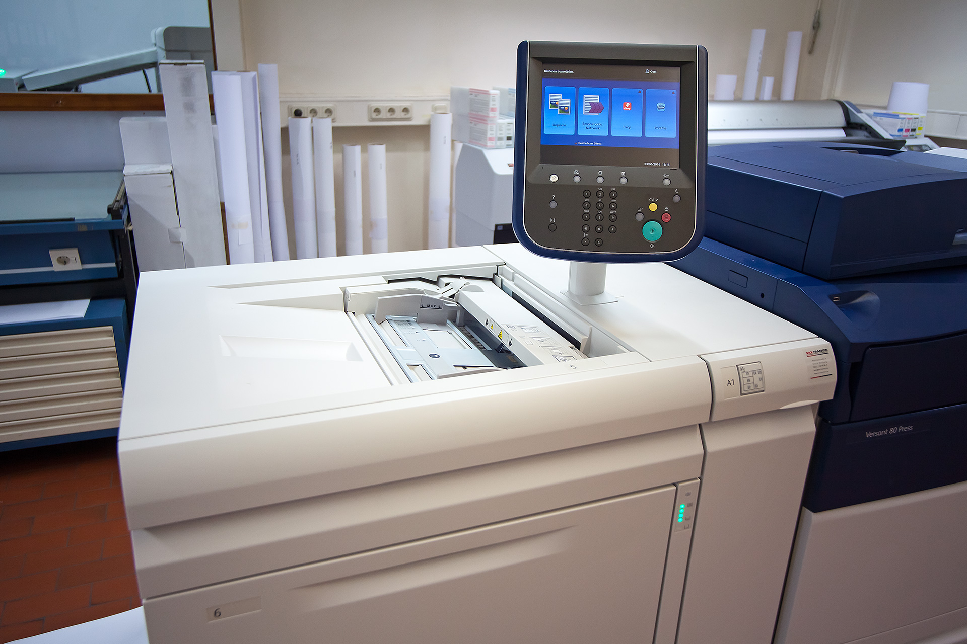 Digitaldrucker, Laserdrucker mit Display
