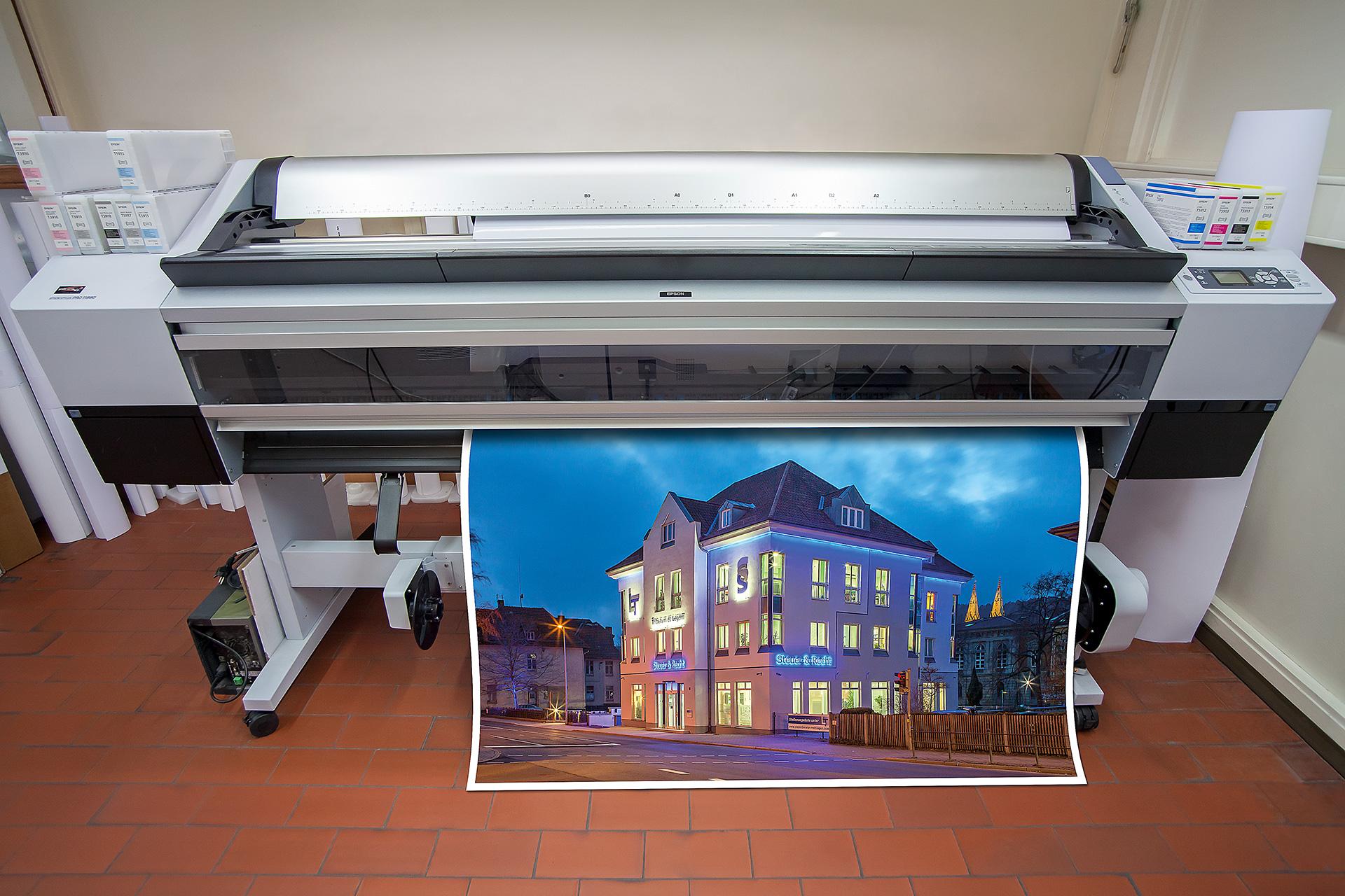 Großformatdrucker, Tintenstrahldrucker