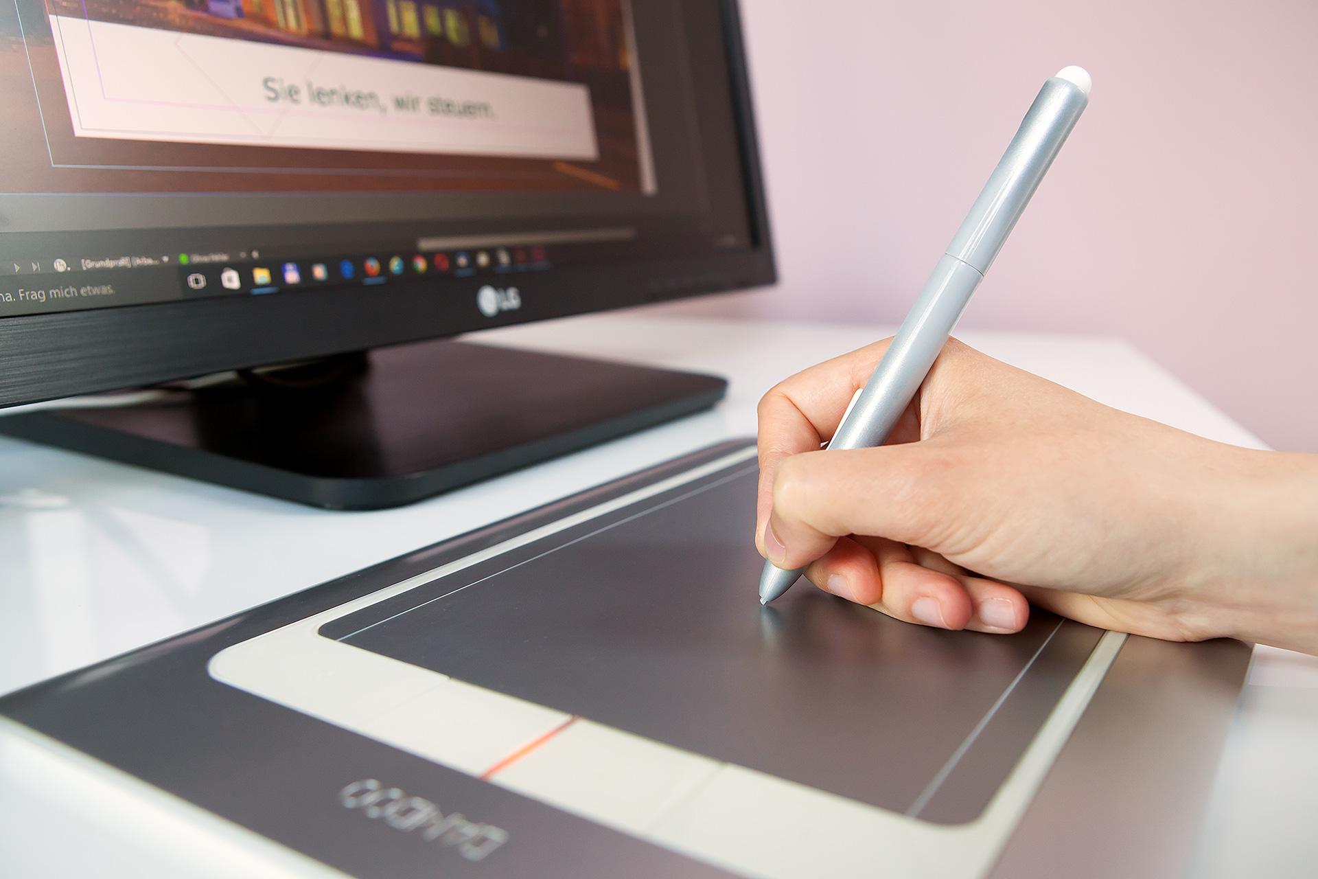 Gestaltung - Grafiktablett