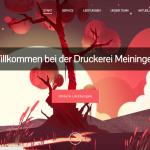 Startseite Druckerei Meiningen